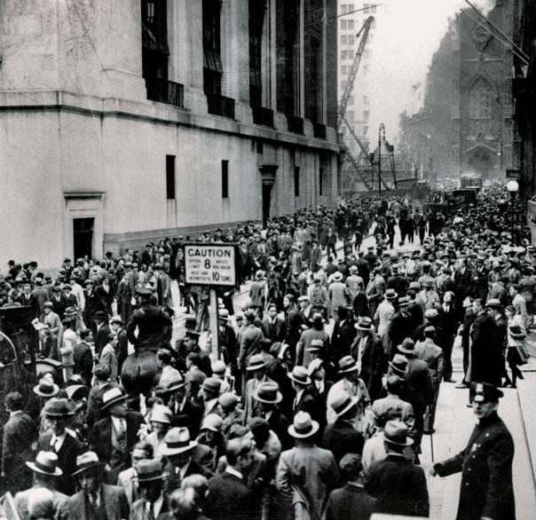 What caused the wall street crash essay