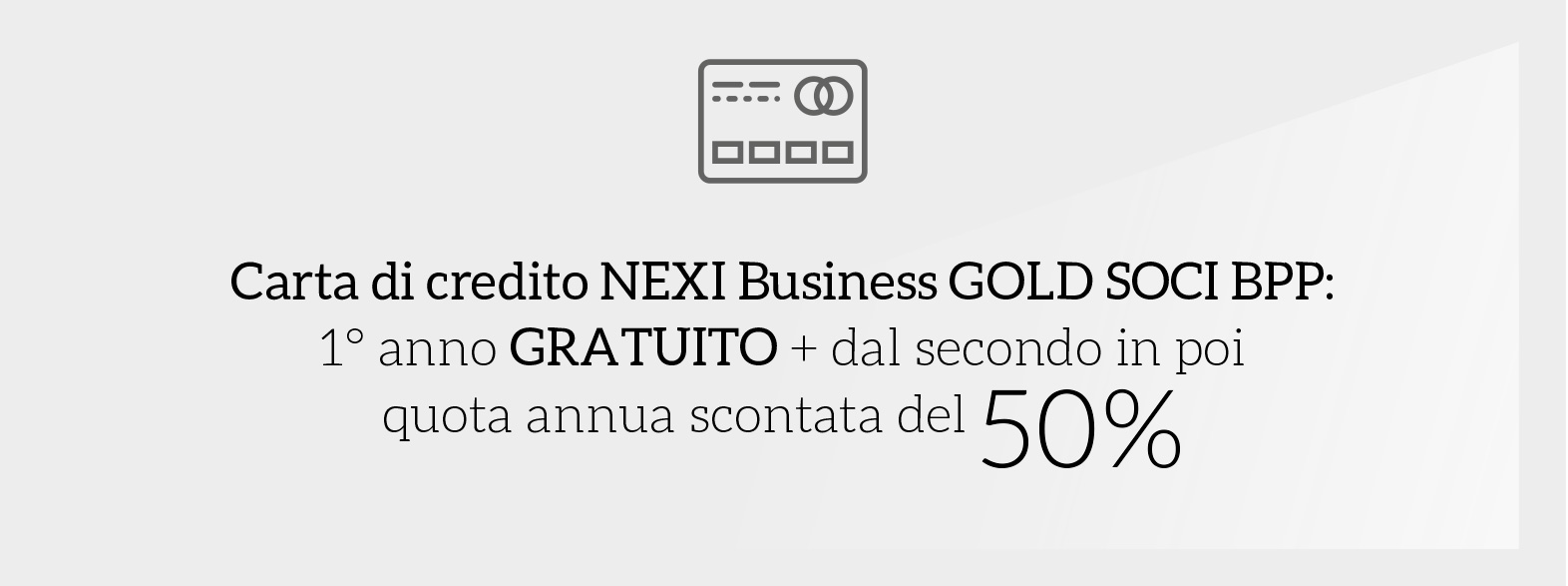 Carta di credito nexi business gold soci bpp
