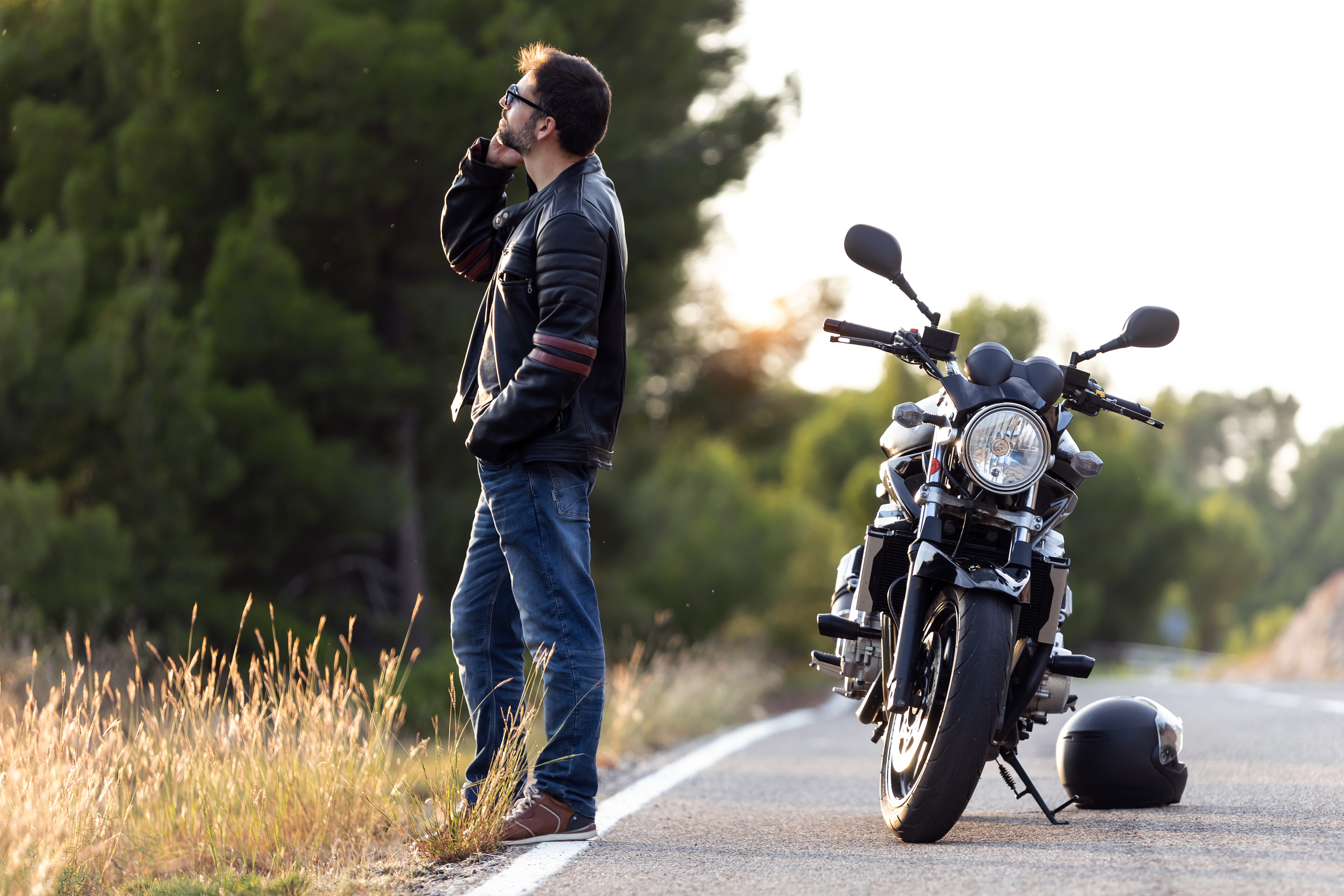man-biker-on-the-road-F7RVNWE